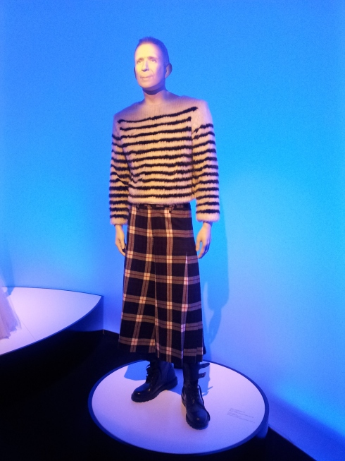 JPG himself as a talking mannequin