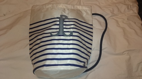 Le Male Sailor bag front