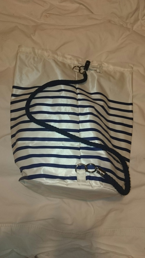 Le Male Sailor bag back