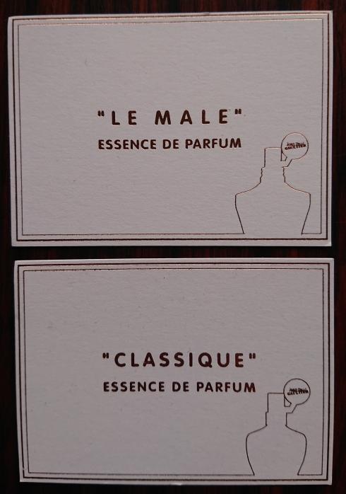 Classique essence cards